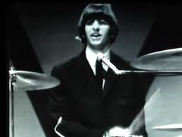 "Ringo singing ""Act naturally"" at Shea Stadium"