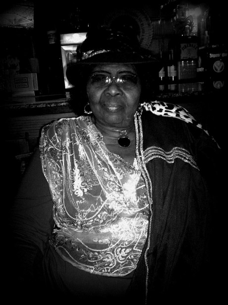 Marion James - Nashville's Queen of the Blues at 30th reunion, photo - Brad Hardisty