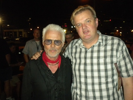 Michael Des Barres and Brad Hardisty at Americana Festival 2010, Exile on Main Street Tribute