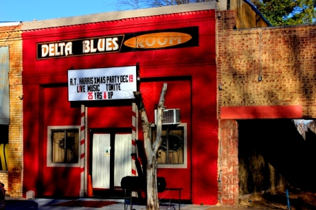 Delta  Blues Room, Clarksdale, MS, photo - Brad Hardisty