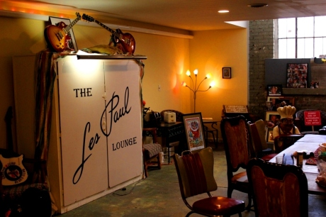 The Les Paul Room, photo - Brad Hardisty