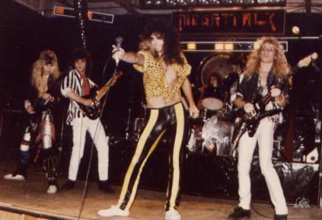 Megattack original lineup, 1986, courtesy - Megattack