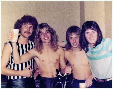 Moviescreen pre-Bryan Sorenson in 1983, Matt Udall, Parrish Hultquist, Dave Neil, Dana Freebairn