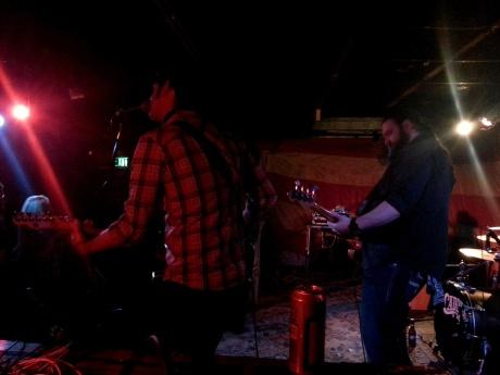 Eric Watters on guitar photo - Brad Hardisty
