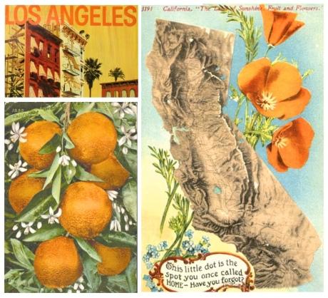 cali postcard