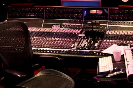 Big Kenny's API Plus console in Home Studio, Nashville, TN, photo - Brad Hardisty