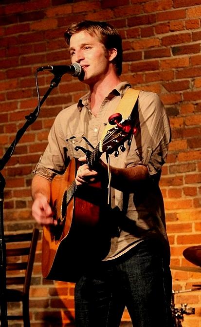 Derik Hultquist at The Listening Room, photo - Brad Hardisty