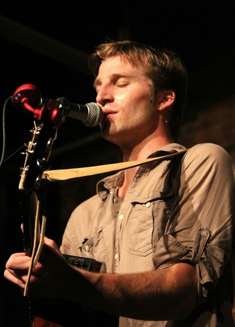 Derik Hultquist at The Listening Room, photo - Brad Hardisty