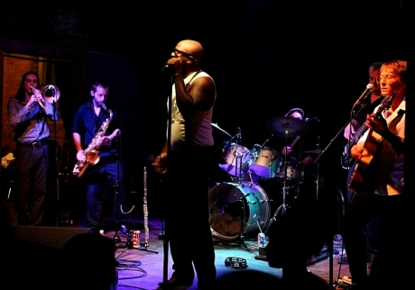 AJ & The Jiggawatts at The High Watt, photo - Brad Hardisty