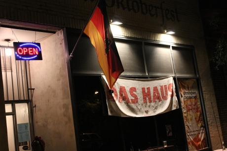 Das Haus, loud, experimental out of the box venue, Secret Stages 2013, photo - Brad Hardisty