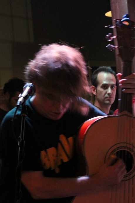 Adam Guthrie on Bajo Sexto, Secret Stages 2013, photo - Brad Hardisty