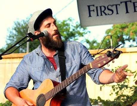 Jesse Hall, Bear Cub, 2013 Tomatoo Art Fest, photo - Brad Hardisty