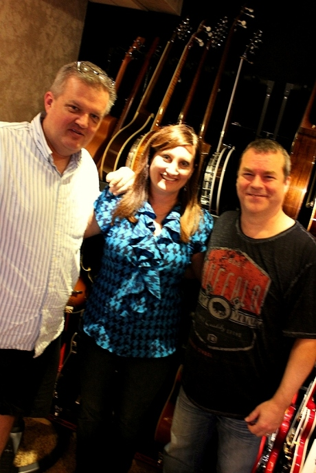 Brad Hardisty, Shantell Ogden, John Willis at Willisoundz, September 2013
