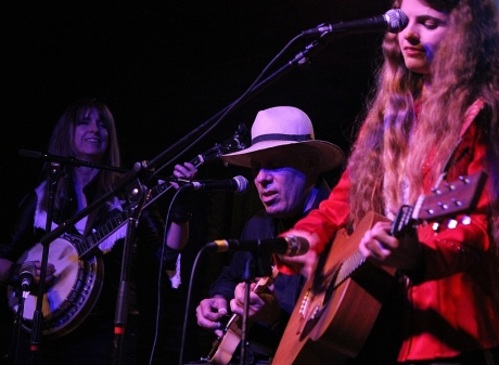 Lynn Shipley Sokolow, Fred Sokolow, Nettie Rose, Mercy Lounge, 10/22/2013, photo - Brad Hardisty