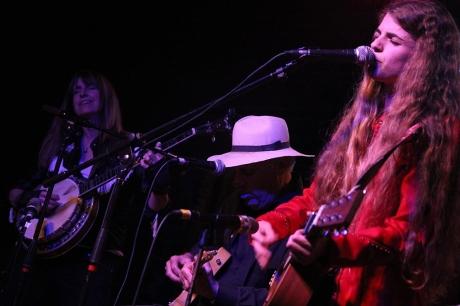 Lynn Shipley Sokolow, Fred Sokolow, Nettie Rose at Mercy Lounge, 10/22/2013, photo - Brad  Hardisty