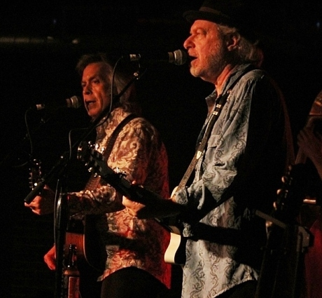 Jim Lauderdale, Buddy Miller, Cannery Ballroom, Sept 2013, photo - Brad Hardisty