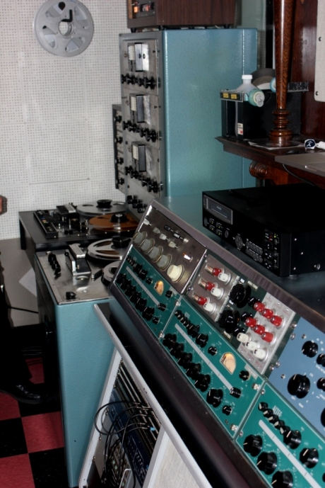 Scully, Ampex, Fairchild, Altec and Pultec vintage gear, restored at Norman Petty Studio at Sixteen Ton Studio, Nashville, TN, photo - Brad Hardisty