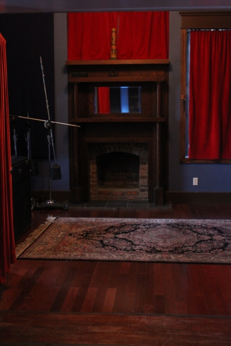 Sixteen Tow Studio, main room, converted house on Music Row, Nashville, TN, photo - Brad Hardisty