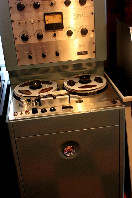 vintage Ampex 4 track, Norman Petty Studio at Sixteen Ton, nashville, TN, photo - Brad Hardisty