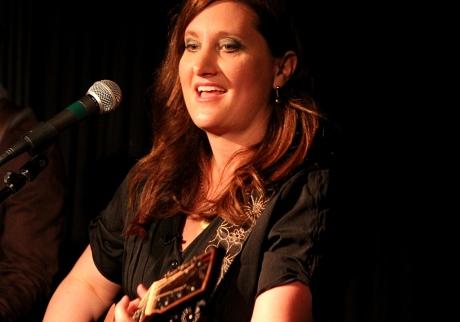 Shantell Ogden live at Douglar Corner Cafe, 11/16/2013, photo - Brad Hardisty