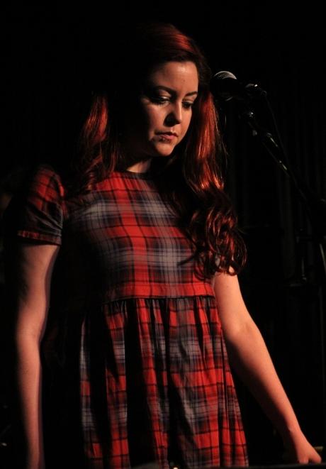 Andrea Villareal performing with Shantell Ogden, Douglas Corner Cafe, 11/16/2013, photo - Brad Hardisty