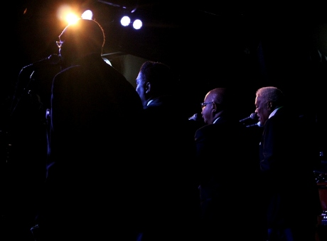 The Fairfield Four, Third and Lindsley, Nashville, TN, 12/21/2013, photo - Brad Hardisty