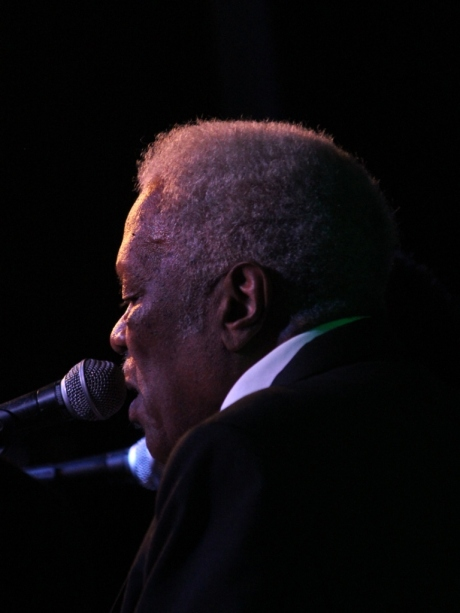 Robert Hamlett, The Fairfield Four, Third and Lindsley, Nashville, TN, photo - Brad Hardisty