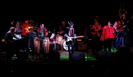 Miike Farris and The Roseland Rhythm Revue, Third and Lindsley, Nashville, TN, 12/21/2013, photo - Brad Hardisty