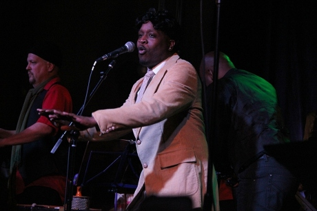 Samson White as Morris Day, Third and Lindsley, Nashville, TN, 12/21/2013, photo - Brad Hardisty