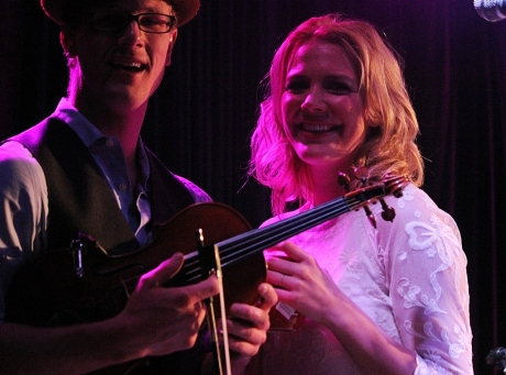 Christopher Marion, Jenika Marion, Rosewater at 3rd & Lindsley, Nashville, TN, photo - Brad Hardisty