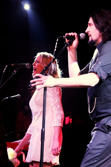 Jenika Marion, Darrell Marrier, Rosewater at 3rd & Lindsley, photo - Brad Hardisty