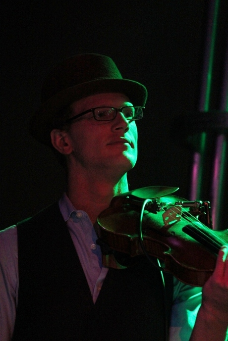 Christopher Marion, Rosewater at 3rd and Lindsley, Nashville, TN, photo - Brad Hardisty