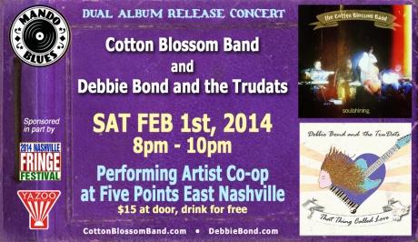 debbie bond cotton blossom band
