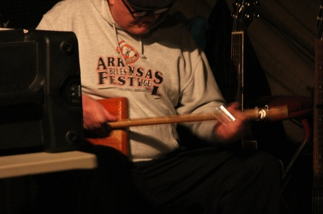 Mason Stevens, The Cotton Blossom Band, photo - Brad Hardisty