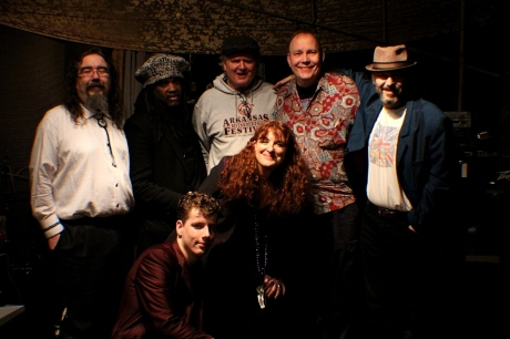 Debbie Bond & The TruDats and The Cotton Blossom Band at CD Release Party, photo- Brad Hardisty