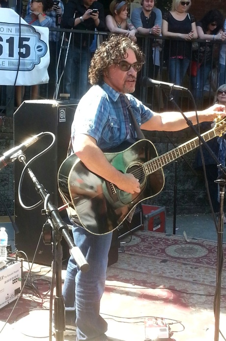 John Oates, Record Store Day 2014, Grimey's, photo - Brad Hardisty