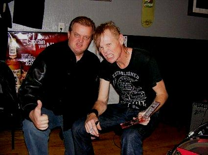 Brad Hardisty with Joe Buck, The Jackalope, Salt Lake City, UT, 2009