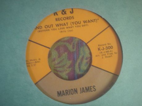 Marion James find out what you want