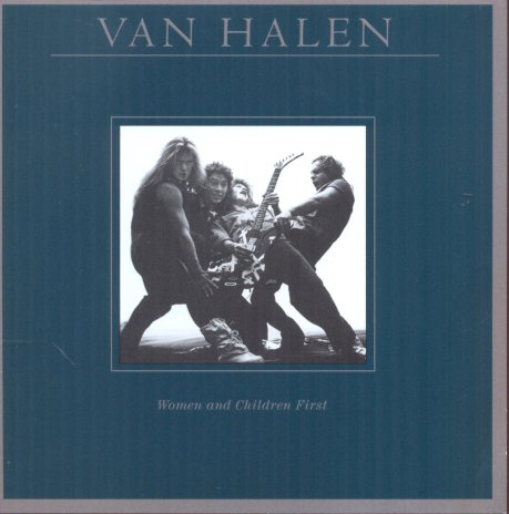 van halen women and children